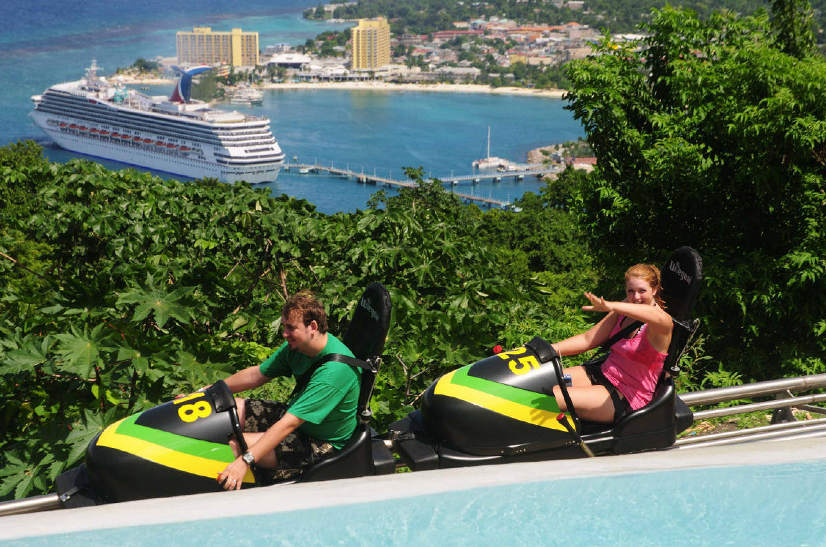 Chalis Car Rental - MYSTIC MOUNTAIN  Bobsled Jamaica and Sky Explorer